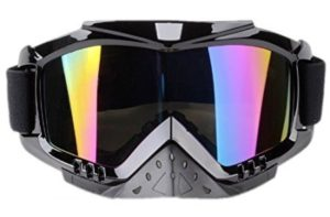 Adult Motorcycle Off Road Dirt Bike Safety Goggles Screen Filter